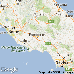 Frosinone Italy Map.Frosinone Travel Guide Travel Attractions Frosinone Things To Do